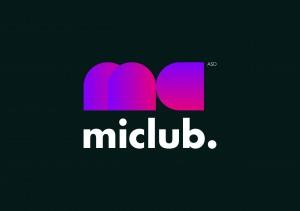 01 logo miclub colori su fondo scuro