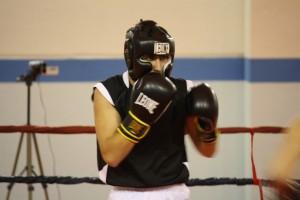 foto di boxe - guardia